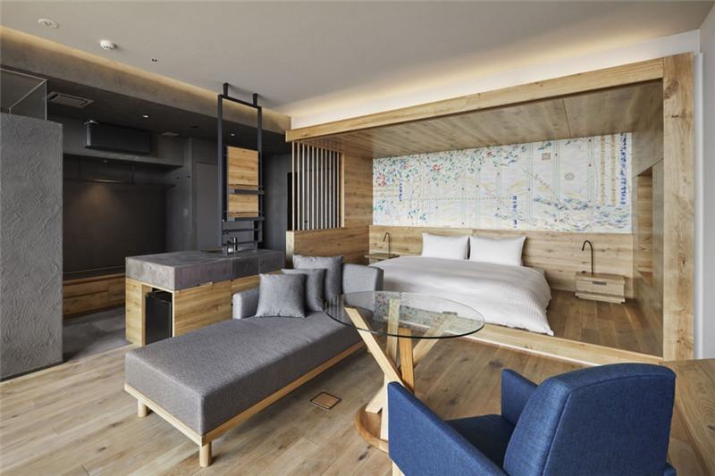 客房设计-融入当地特色的Galleria Midobaru温泉酒店设计