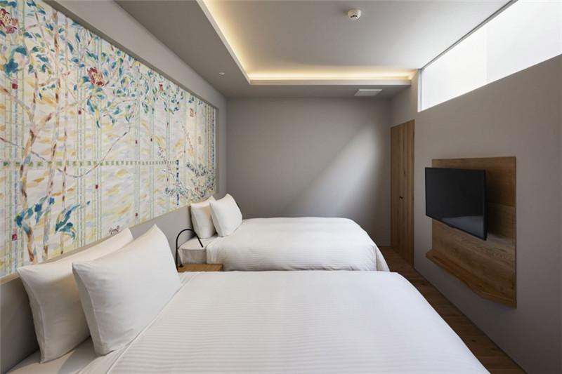 融入当地特色的Galleria Midobaru温泉酒店设计