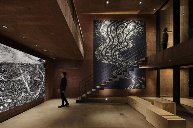 酒店大厅设计-融入当地特色的Galleria Midobaru温泉酒店设计