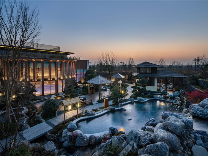 最新开业   成都海泉湾美憬阁索菲特酒店景观设计