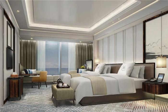 青岛瑞吉酒店客房设计