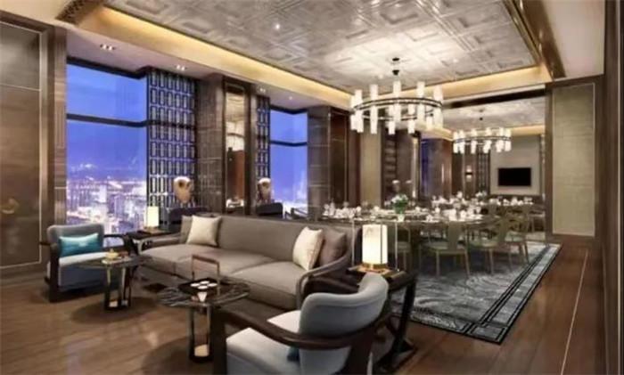西安海荣JW万豪酒店设计