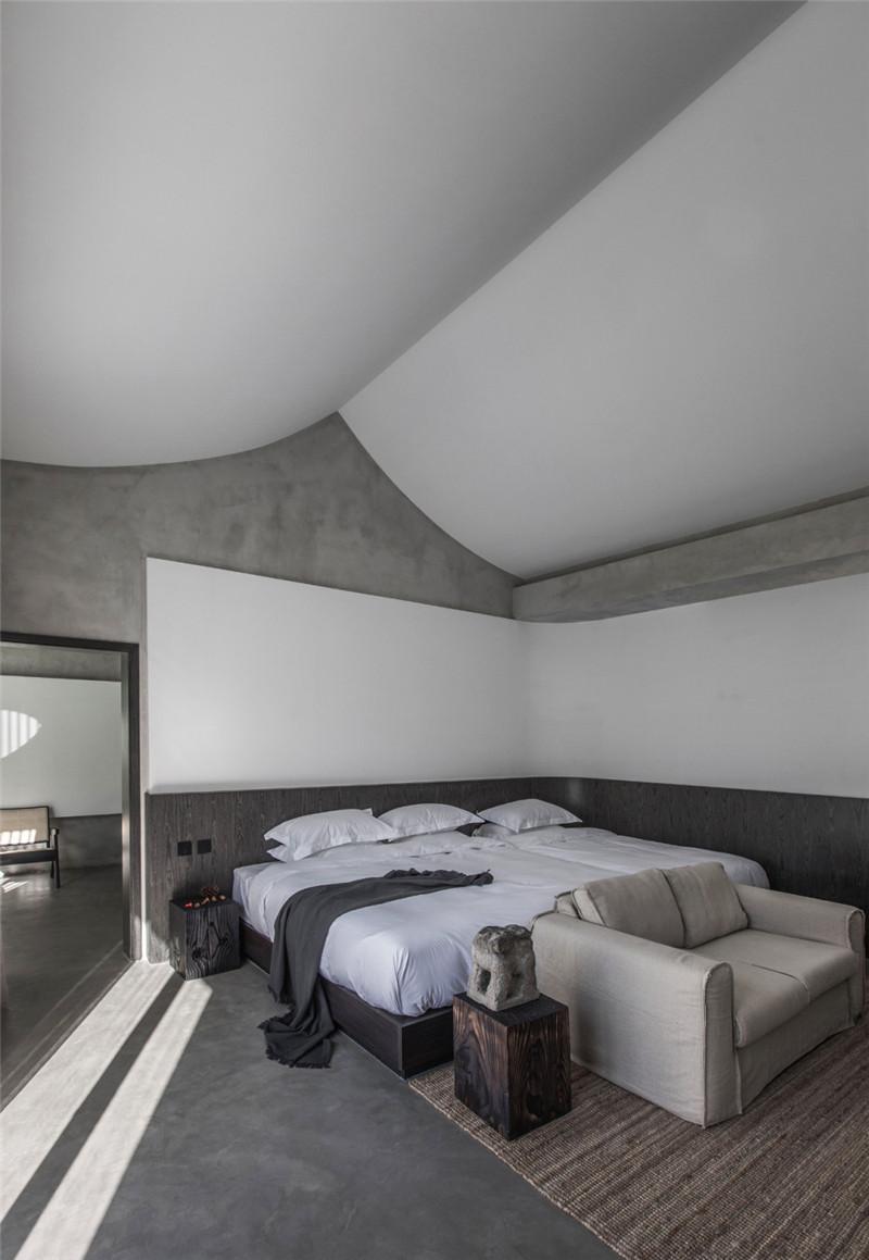民宿客房设计-现代艺术侘寂风密境民宿设计案例赏析