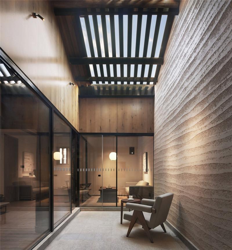 古建筑民居改造酒店设计  青普梧林文化行馆设计说明