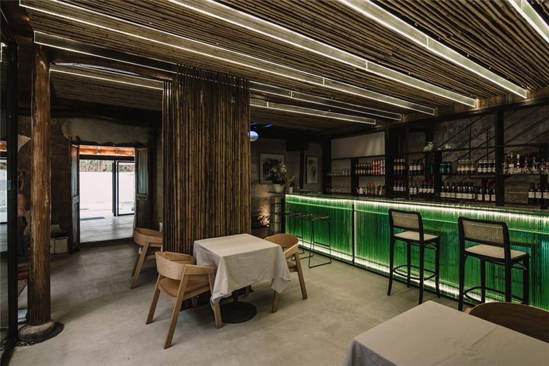农村民居改造民宿设计案例:宾临城民宿酒吧设计