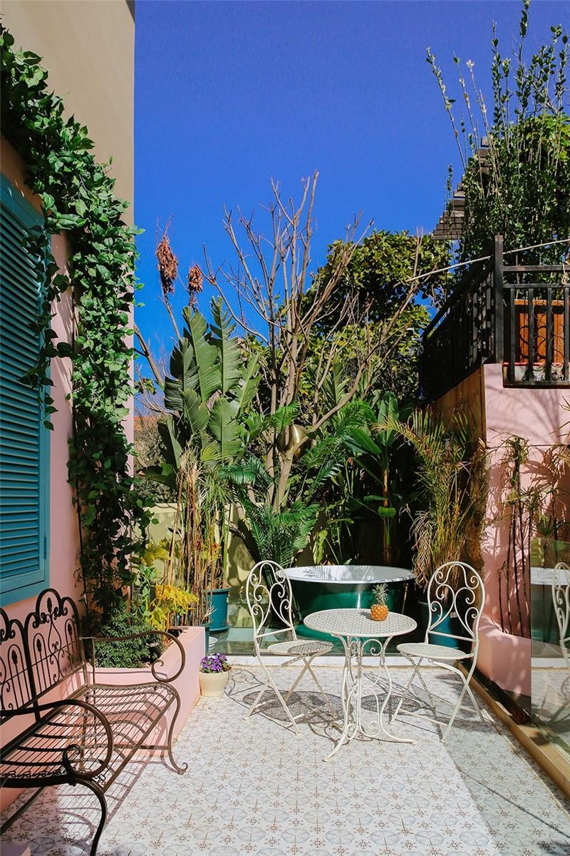 大理网红民宿设计推荐:夏禾夫人意式风情民宿花园景观设计