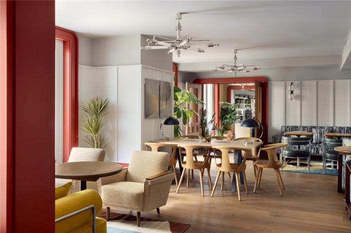 餐厅设计-时尚前锋主题Schwan Locke公寓式酒店设计