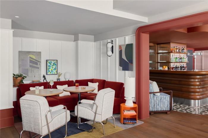 时尚前锋主题Schwan Locke公寓式酒店餐厅设计