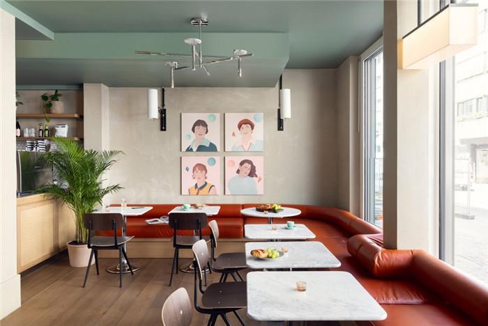 时尚前锋主题Schwan Locke公寓式酒店设计