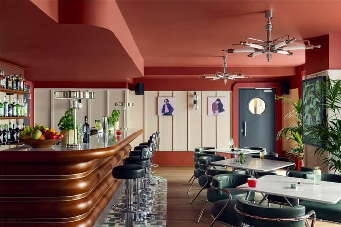 时尚前锋主题Schwan Locke公寓式酒店酒吧设计