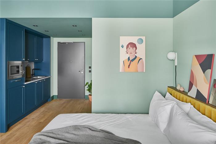 时尚前锋主题Schwan Locke公寓式酒店客房设计