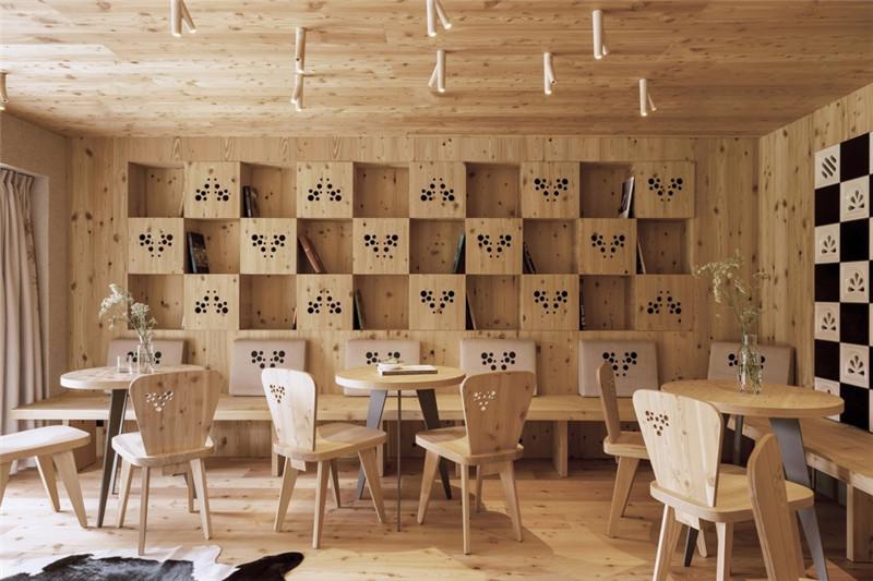 酒店餐厅设计-连接本土文化与创意的BOHINJ酒店翻新改造设计方案