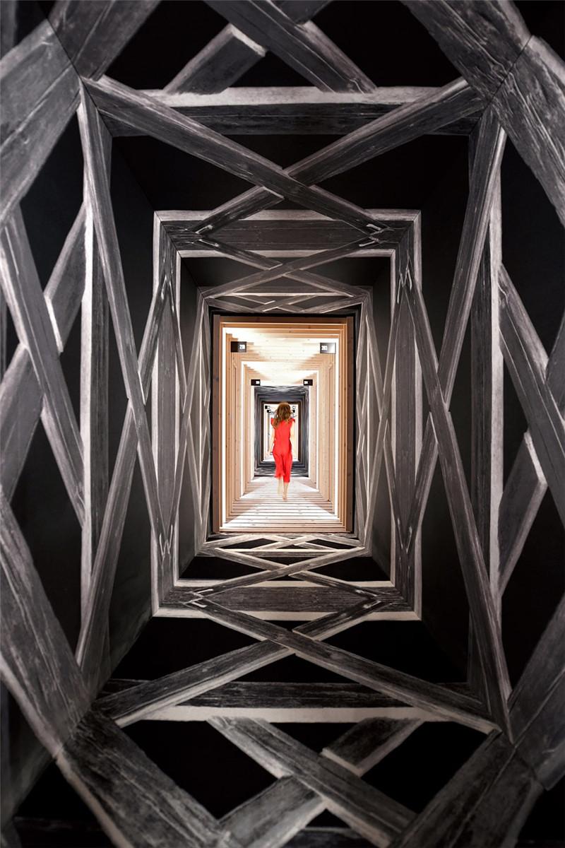 酒店走廊设计-连接本土文化与创意的BOHINJ酒店翻新改造设计方案
