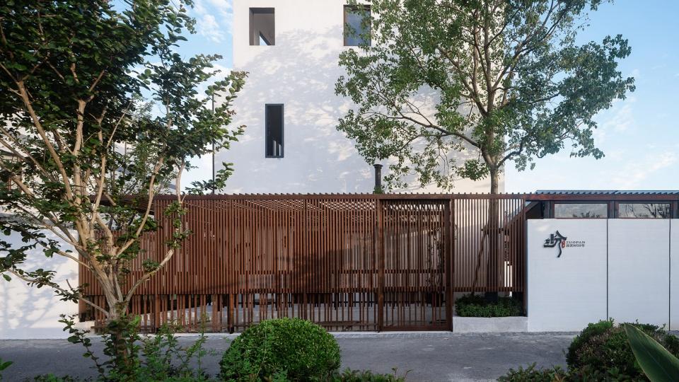 民宿入口设计特色乡村民宿设计推荐:上海左盼民宿改造设计方案