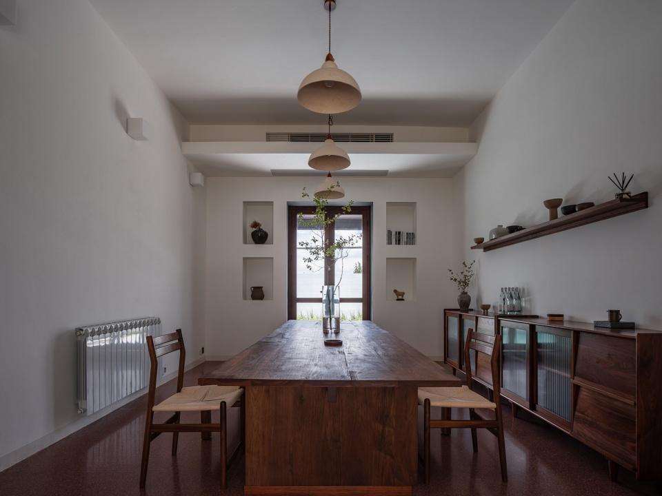 民宿餐厅设计-特色乡村民宿设计推荐:上海左盼民宿改造设计方案
