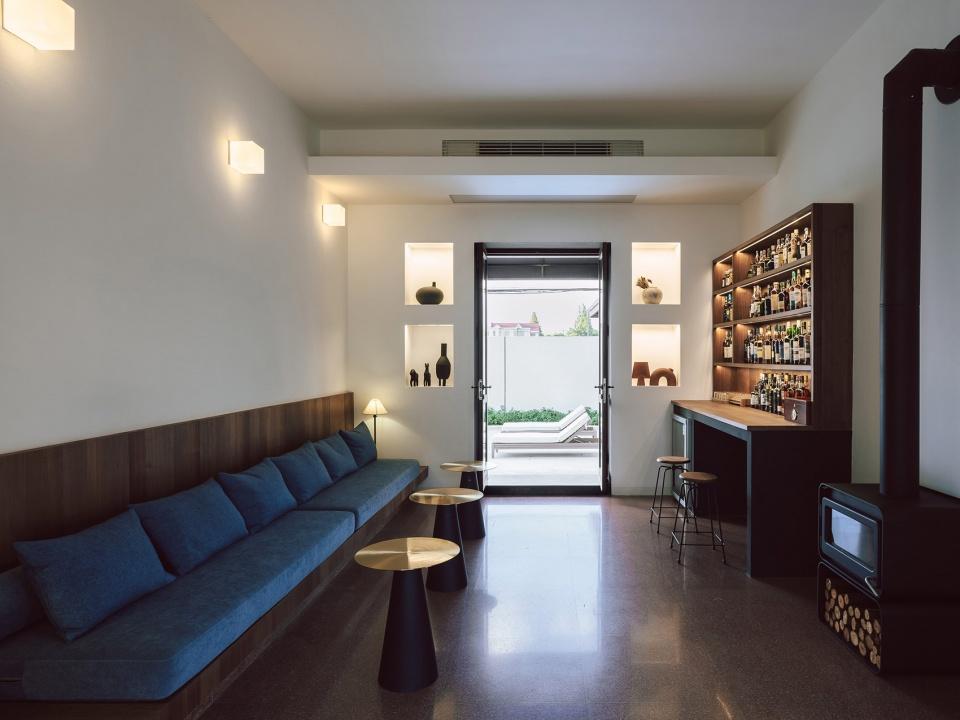 特色乡村民宿设计推荐:上海左盼民宿酒吧改造设计方案