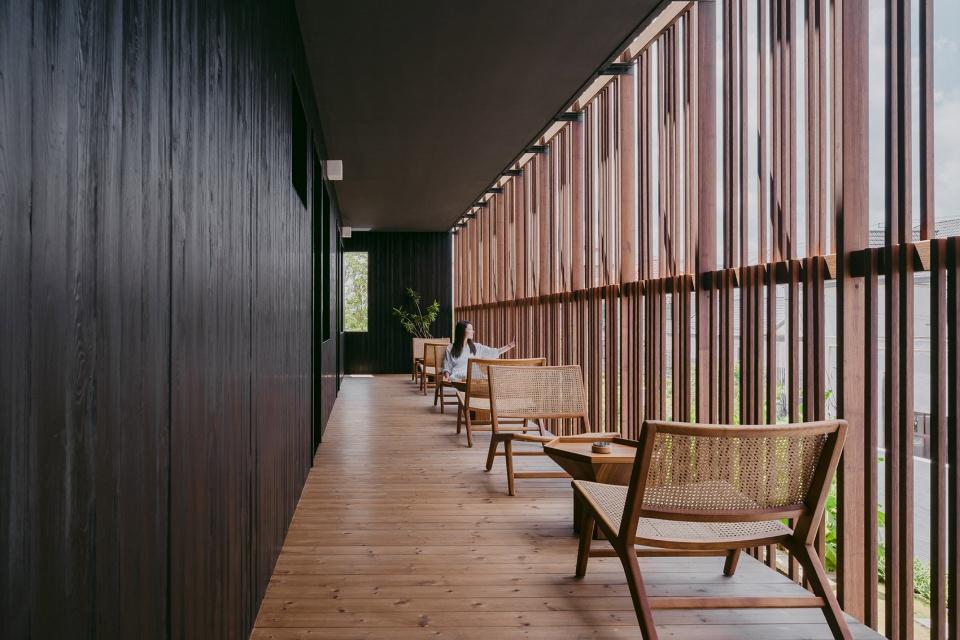 特色乡村民宿设计推荐:上海左盼民宿走廊设计方案