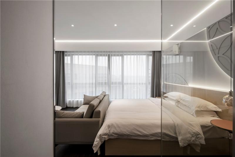 以通宝为主题的时尚精品酒店客房设计实景图