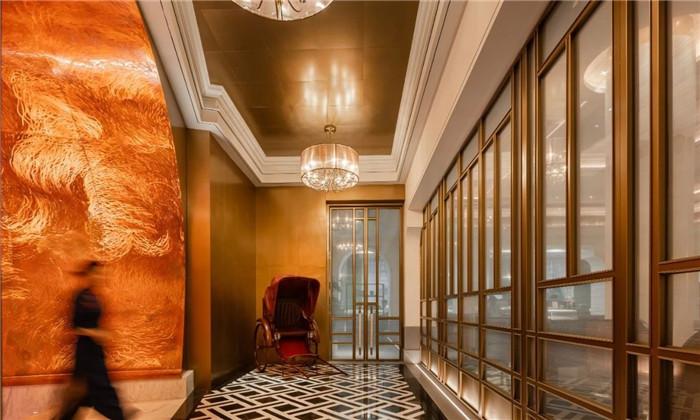 复古传奇  武汉汉口江滩美仑国际酒店设计案例