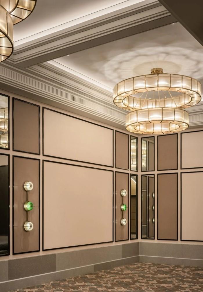 多功能厅设计-复古传奇  武汉汉口江滩美仑国际酒店设计