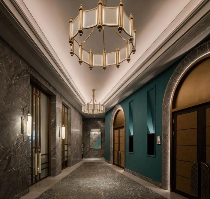 复古传奇  武汉汉口江滩美仑国际酒店设计图