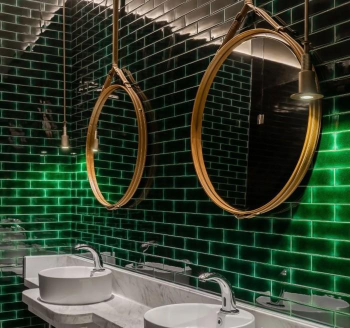 酒店卫生间设计-复古传奇  武汉汉口江滩美仑国际酒店设计