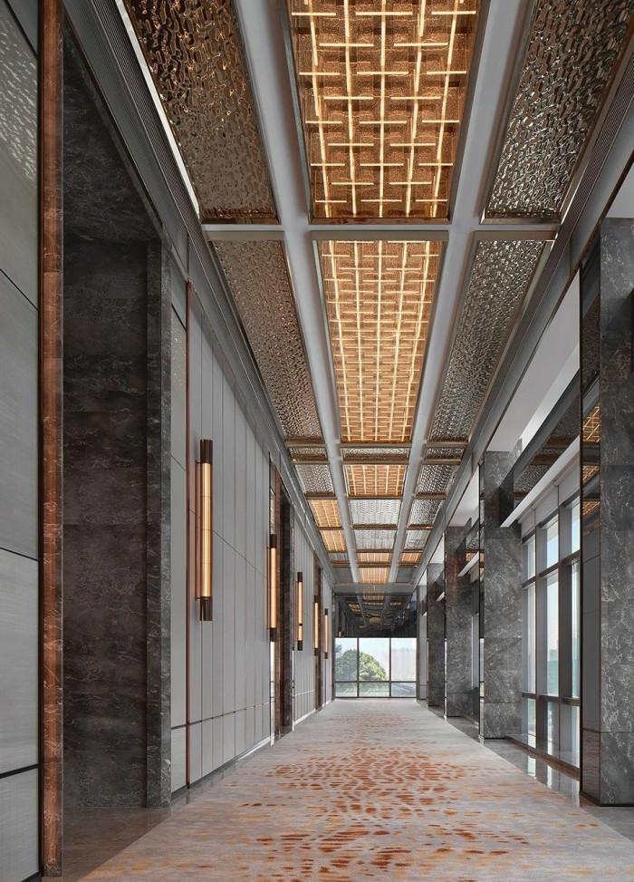 长沙新地标酒店设计  世茂希尔顿酒店设计方案赏析