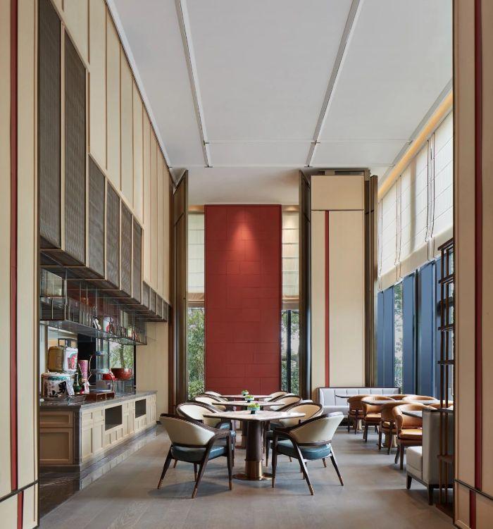 酒店餐厅设计-中式风华   南湖宾馆1号楼翻新改造设计案例