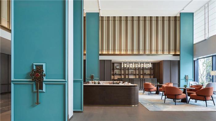 大堂吧设计-中式风华   南湖宾馆1号楼翻新改造设计案例