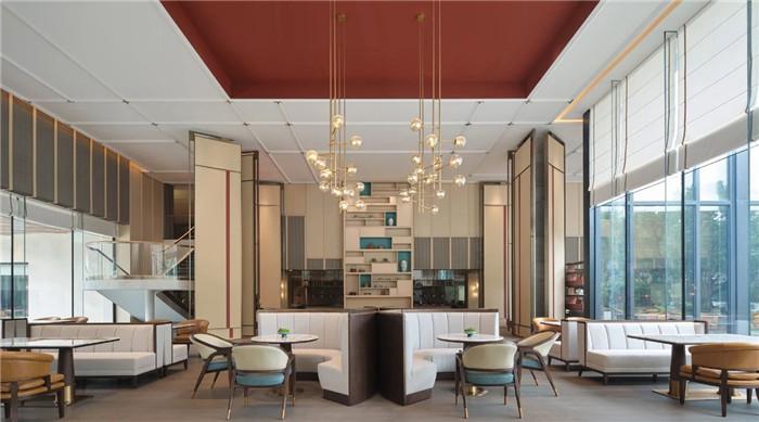 餐厅设计-中式风华   南湖宾馆1号楼翻新改造设计案例