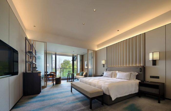 酒店客房设计-中式风华   南湖宾馆1号楼翻新改造设计案例