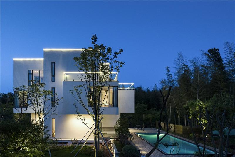 民宿建筑设计-宜兴松楼   以竹为主题的摄影师民宿设计案例赏析