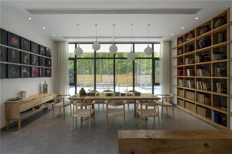 民宿餐厅设计-宜兴松楼   以竹为主题的摄影师民宿设计案例赏析