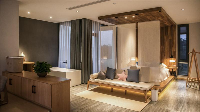 宜兴松楼   以竹为主题的摄影师民宿客房设计方案赏析