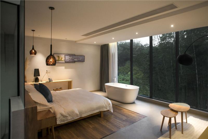 民宿客房设计-宜兴松楼   以竹为主题的摄影师民宿设计案例赏析