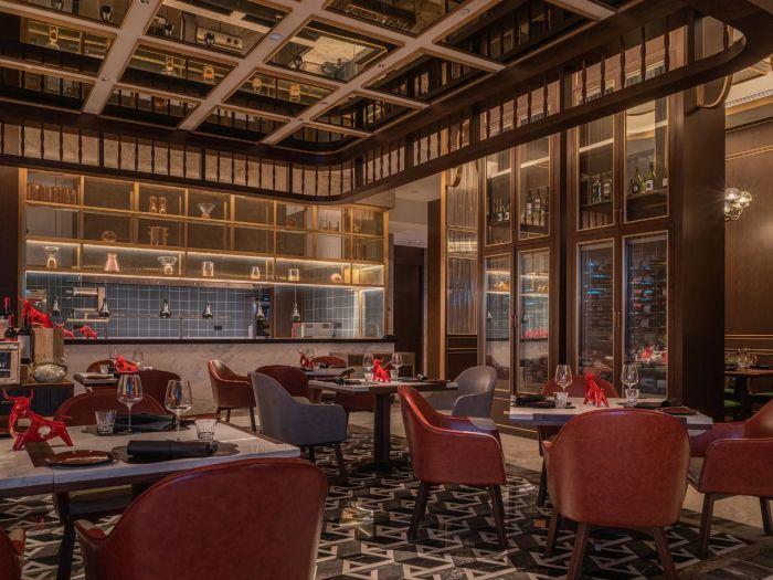 新五星级酒店设计   佛山新城保利洲际酒店酒吧设计赏析