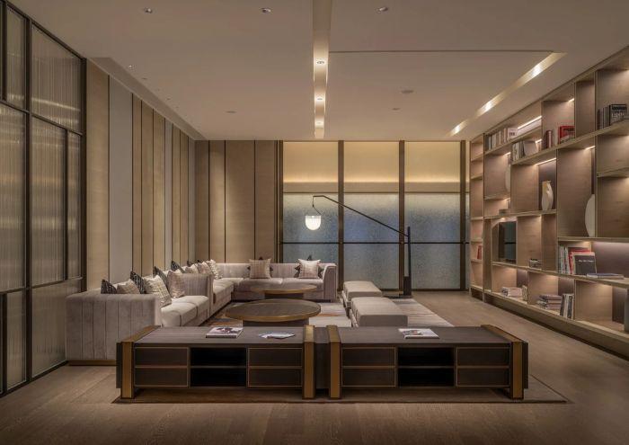 新五星级酒店设计   佛山新城保利洲际酒店套房设计赏析