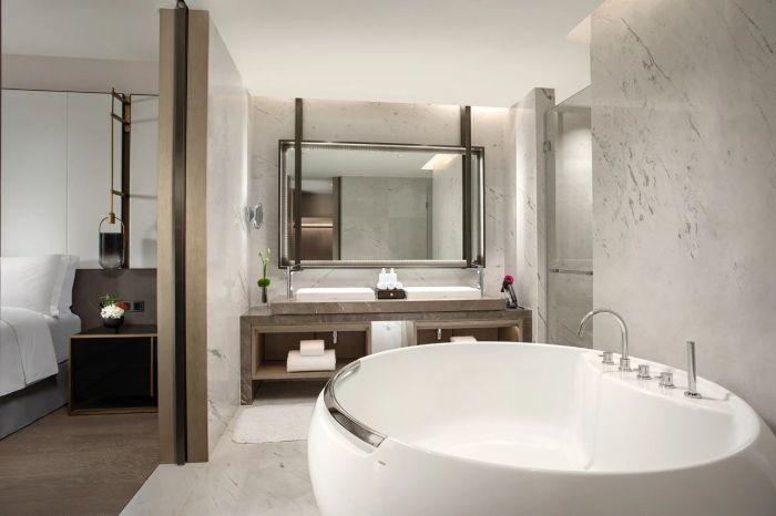 新五星级酒店设计   佛山新城保利洲际酒店客房设计赏析