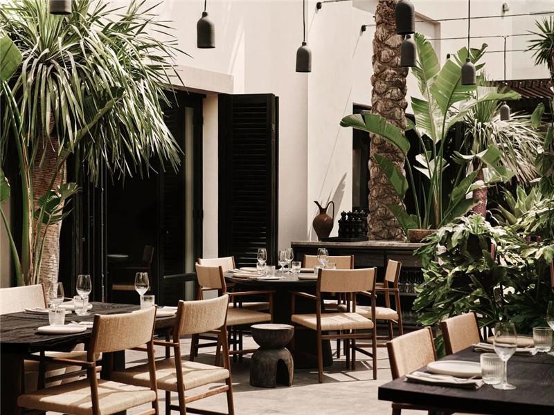 诧寂风Noema Mykonos度假酒店公共区域设计